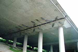 I-90 Ramp Seismic Restrainers