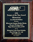 2011 APWA National Award Winner